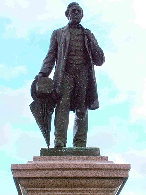 Statue of George Palmer - The statue of George Palmer
