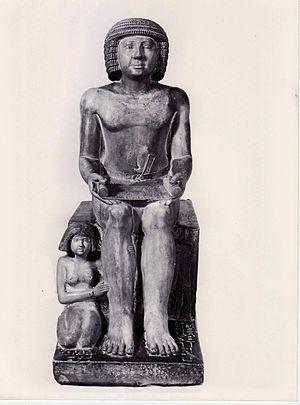 Northampton Sekhemka statue - Statue of Sekhemka