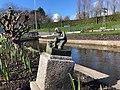 Statue of the hero of Haarlem (Spaarndam) in Madurodam 01.jpg