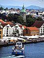 Stavanger vom obersten Deck eines Kreuzfahrtschiffes gesehen. 04.jpg