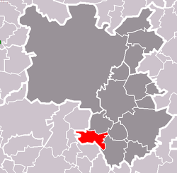 Location of Štěnovický Borek