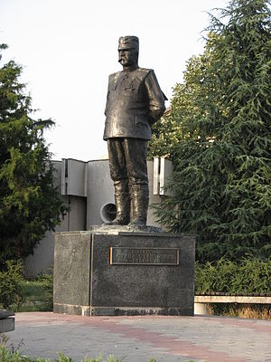 Stepa Stepanović - Monument in Kumodraž.