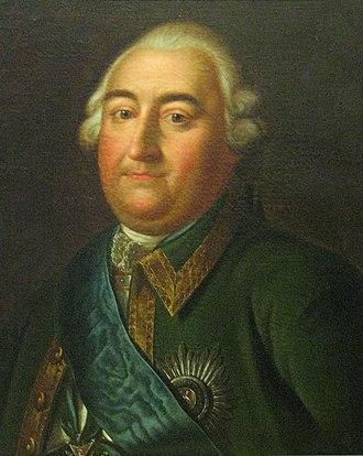 Stepan Fyodorovich Apraksin - Stepan Apraksin