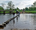 Stepping out across the Wharfe - geograph.org.uk - 823830.jpg