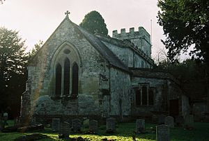 Stockton, Wiltshire - Image: Stockton Church 3