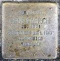 Stolperstein Brandenburgische Str 43 (Wilmd) Hans Fabisch.jpg