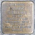 Stolperstein Heinrich Zeilberger by 2eight 3SC1476.jpg