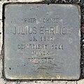 Stolperstein Julius Ehrlich (Kleeberger Straße 11 Butzbach).jpg