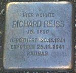 Stolperstein Munich Richard Reiss.jpg