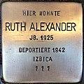 Stolperstein Ruth Alexander.jpg