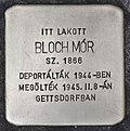 Stolperstein für Mor Bloch (Szeged).jpg