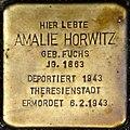 Stolpersteine Köln, Amalie Horwitz (Brüsseler Straße 89).jpg