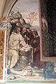 Storie di s. benedetto, 06 sodoma - Come uno prete ispirato da dio porta da mangiare a Benedetto nel giorno di pasqua 02.JPG