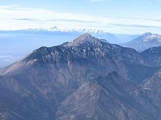 Kalce Ridge - Image: Storzhich Kalshki greben