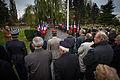 Strasbourg nécropole nationale de Cronenbourg cérémonie 1er novembre 2013 39.jpg