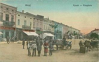 Stryi - Stryj Postcard, 1915