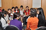 Students join the 'USAID and Higher Education in Vietnam' talk (8201288721).jpg