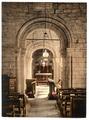 Studland Church, interior, Swanage, England-LCCN2002708142.tif
