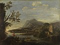 Style of Salvator Rosa - A Coastal Scene, NG935.jpg