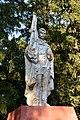 Subbotsi Monument to WW2 Warriors-Fellow-Villagers 03 Village Centre near Stores (YDS 2752).jpg