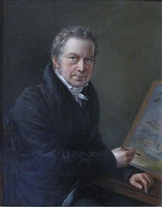 Gabriel Lory - 1825 portrait by David Sulzer.