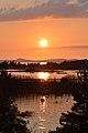 Sunset viewed from Philip Edward Island - Killarney, Ontario 01.jpg