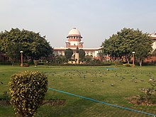 Supreme Court of India, front view 02.jpg