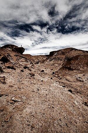 Sur Lípez Province - A view of the Sur Lipez desert