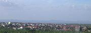 Eastern suburbs of Surabaya, overlooking the Strait of Madura