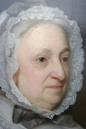 Robert Walpole (1650–1700) - Detail of a portrait of Susan, who married Anthony Hamond (d.1743), attributed to Thomas Bardwell.