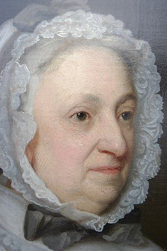 Robert Walpole (colonel) - Detail of a portrait of Susan, who married Anthony Hamond (d.1743), attributed to Thomas Bardwell.