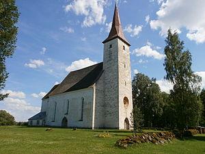 Suure-Jaani - Suure-Jaani Lutheran church