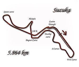 1988 Japanese motorcycle Grand Prix - Image: Suzuka 1992