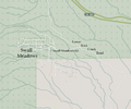 Swall Meadows from Open Street Map.png