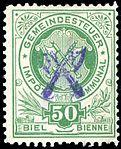 Switzerland Biel Bienne 1903 revenue 50c - 4B.jpg