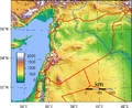 Topographie Syriens