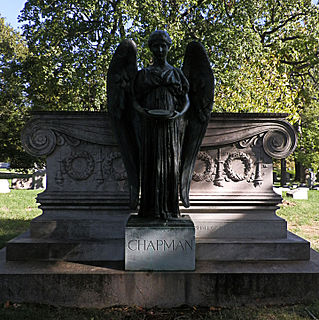 <i>T.A. Chapman Memorial</i> artwork by Daniel Chester French