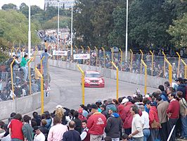 Een TC 2000 race in Santa Fe, Argentinië.