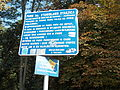 Tabliczka informacyjna dot. parku miejskiego w Kielcach (jw14).JPG