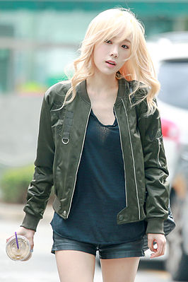 Taeyeon, Incheon Airport 150911.jpg
