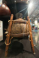 Taha huahua (Maori food container) on display at Te Papa.jpg