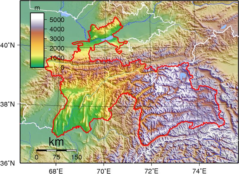 File:Tajikistan Topography.png