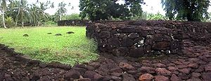 Wallis and Futuna - Ruins of the Talietumu fort