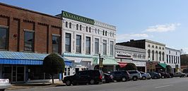 Talladega Alabama Courthouse Square.JPG