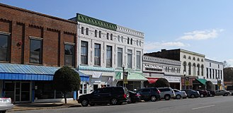 Talladega, Alabama - Talladega Courthouse Square Historic District