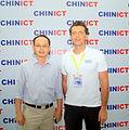 Taobao's VP Ben Wang + Franck Nazikian.JPG