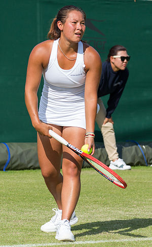 Tara Moore - Moore at the 2015 Wimbledon Qualifying