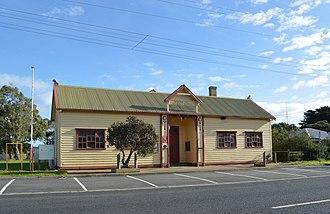 Tarwin Lower, Victoria - Mechanics Institute and Memorial Hall