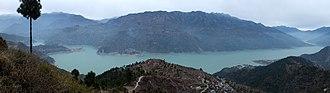 Tehri - Tehri Dam lake Panorama