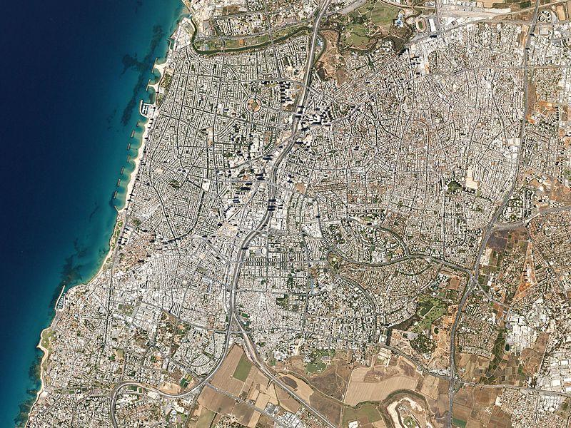 Tel Aviv, Israel by Planet Labs.jpg